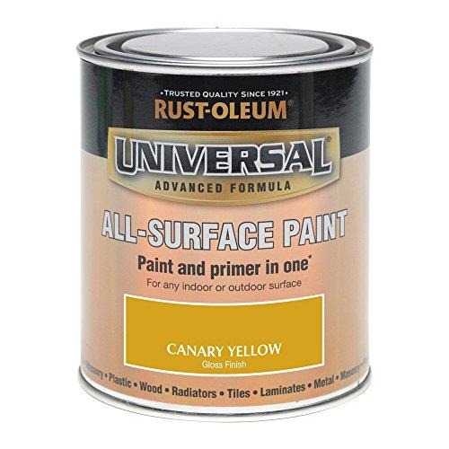 Rust-Oleum 750ml Universal Paint - Gloss Canary Yellow