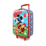 Mickey Mouse Skater-Maleta Trolley Soft 3D