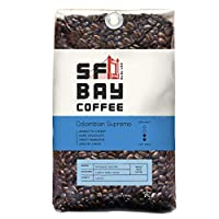San Francisco Bay Coffee Whole Bean, Colombian Supremo, 32 Ounce by San Francisco Bay Coffee