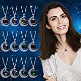Daorokanduhp 12 Constellation Moon Necklace Xmas Jewelry Gifts for Mom Present for Women Her Girls
