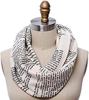 wuthering heights literary scarf