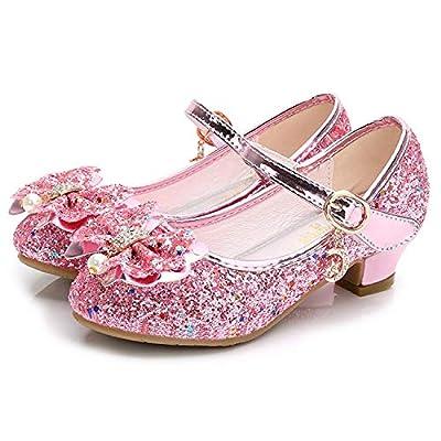 Amazon - Save 5%: Walofou Flower Girls Dress Wedding Party Bridesmaids Heel Mary Jane Princess…