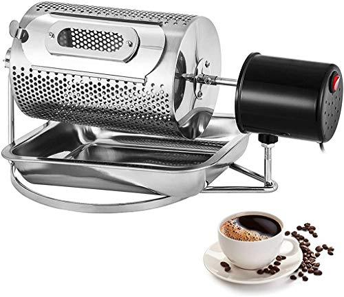 GWQDJ 40W Elettrica Macchina di Tostatura dei Chicchi di caffè, Acciaio Inossidabile Rullo Tostatori di caffè