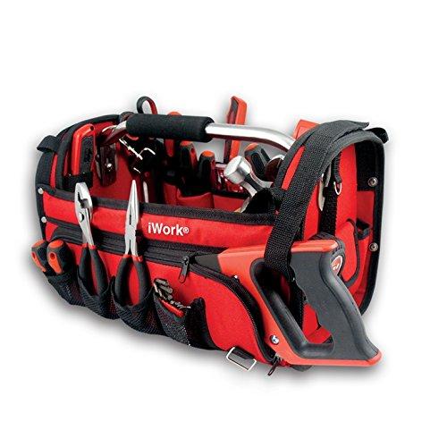 iWork VS043P-R - Juego de 43 herramientas en bolsa profesional (48 x 24.5 x 26.5 cm) color rojo - Special Price
