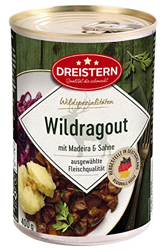 Dreistern Wildragout, 400 g