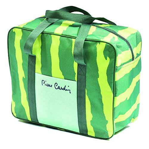 Pierre Cardin, color verde, línea Haiti, bolsa térmica, 24 litros