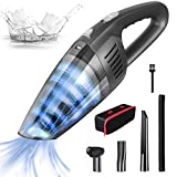 OZOY Cordless Handheld Vacuum Cleaner, 8000PA Strong Suction,120W Powerful, Rechargeable Lightweight Wet Dry Portable Car Vacuum Cleaner for Pet Hair, Home and Car Cleaning