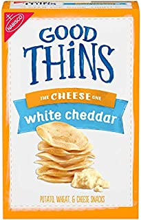 Good Thins White Cheddar Crackers, 3.75 Ounce