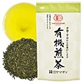 Green Tea leaves Sencha, JAS Certified Organic,Japanese Uji-Kyoto, 80g Bag 【CHAGANJU】
