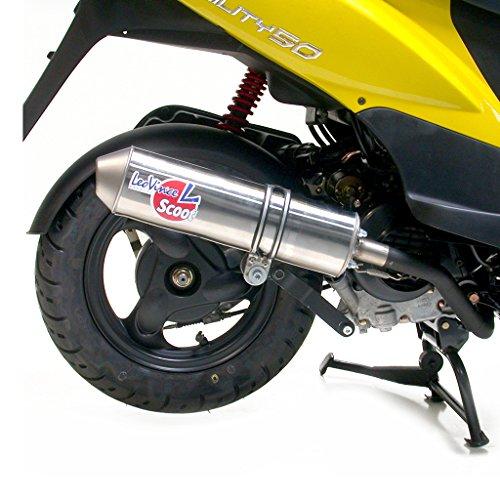 Auspuff LeoVince Scooter versch. Hersteller BT49QT-7 139QMA Veloce QT001 YY50QT LD5TCBP - 4 Takt