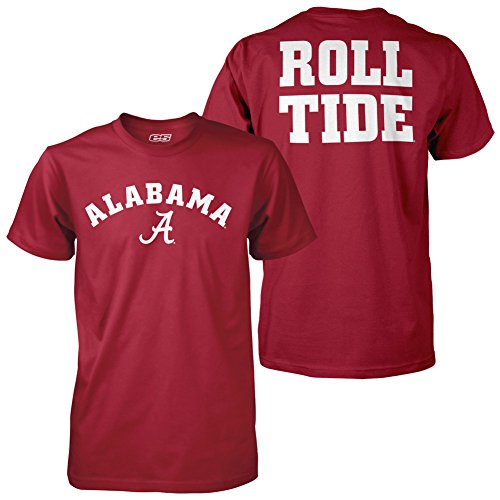 Elite Fan Shop Alabama Crimson Tide Roll Tide Tshirt - L
