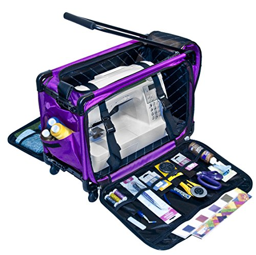 Tutto Machine On Wheels Case- Large  Purple 21