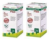 BUYFARMA PROMO PACK - 2X Enterolactis Plus 30 Capsule - Integratore di Fermenti Lattici da 24 Miliardi di Cellule Vive - 60 Capsule + Omaggio a Sorpresa
