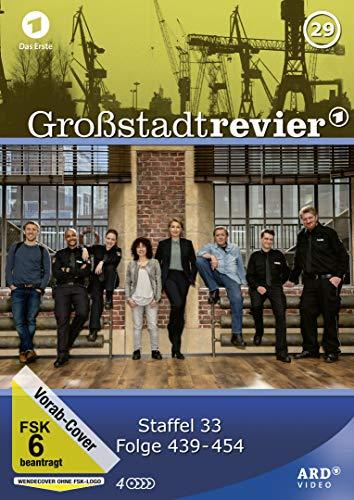 Großstadtrevier - Box 29/Folge 439-454 (Staffel 33) [4 DVDs]