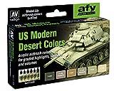 Vallejo Modelo Air Set - US Modern Desert Colors