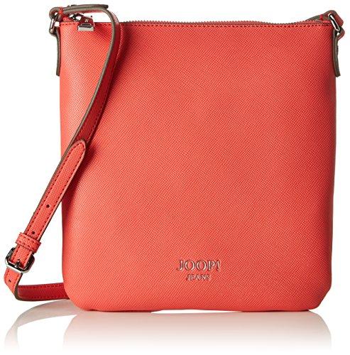 Joop! Damen Saffiano Jeans Dia Shoulderbag Mvz Schultertasche, Pink (Coral), 3x26x24 cm