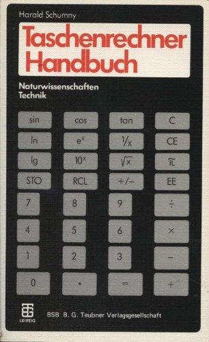 Taschenrechner Handbuch Naturwissenschaften, Technik