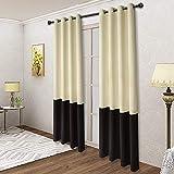 LORDTEX Color Block Verdunkelungsvorhänge für Schlafzimmer – Isolierte Thermo-Vorhänge, Lärm...