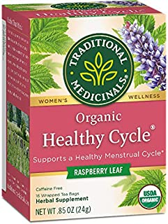healthy menstrual cycle tea