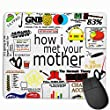 Mauspad How I Met Your Mother Funny Mouse Pad with