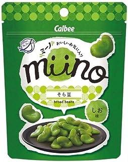 【販路限定品】カルビー miino そら豆しお味 28g×12袋