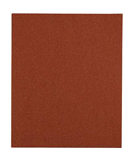 kwb 50 x Schleifpapier K 120 Flint Holz und Farbe 800120 (Siliciumoxid, Bogen 230 x 280 mm)