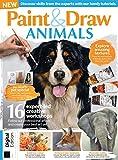 Paint & Draw Animals Magazine 2021 (English Edition)