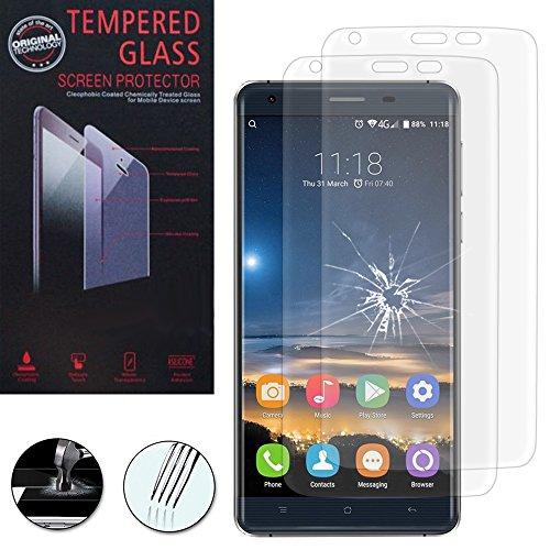 Annart Displayschutzfolie aus Hartglas für OUKITEL K6000 Pro 4G, 5,5 Zoll, transparent, 2 Stück