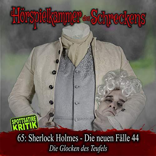 Page de couverture de Sherlock Holmes - Die neuen Fälle 44. Die Glocken des Teufels