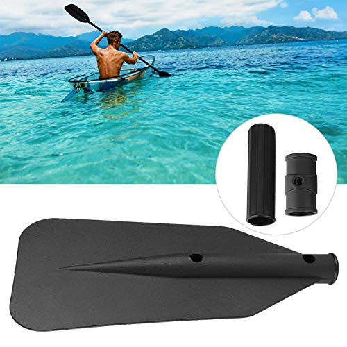 Kuuleyn Detachable Paddle, Detachable 3 in 1 Curved Line Plastic Paddle Blade Handle Oar Accessories Kayak Yacht Rubber Dinghy Canoe