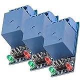 AZDelivery 3 pcs 1 Canal KF-301 Modulo Rele 5V Low-Level-Trigger con E-Book incluido!