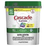 Cascade Platinum ActionPacs Dishwasher Detergent, Fresh Scent (85 Count)
