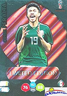 Oribe Peralta Mexico 2018 Panini Adrenalyn XL WORLD CUP RUSSIA EXCLUSIVE LIMITED EDITION Card! Awesome Special Great Looking Card Imported from Europe! Shipped in Ultra Pro Top Loader! WOWZZER!