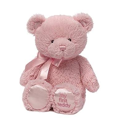 Baby GUND My First Teddy Bear Stuffed Animal Plush, Pink