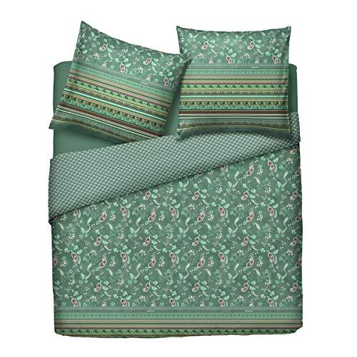 Bassetti Zirvehome Amaranto G1 - Juego de cama (funda nórdica de 200 x 200 cm y 2 fundas de almohada de 80 x 80 cm), color gris