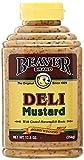 Beaver Deli Mustard, 12.5 Ounce Squeeze Bottle