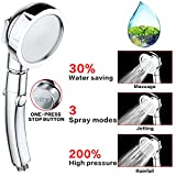 7 BEST TikTok High pressure water saving shower head