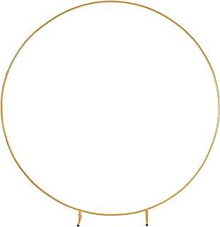 DXDUI Cercle Mariage décoratif Arch Flower étagère arrière-Plan décoration Accessoires arcs en Fer adapté aux Mariages fêt...