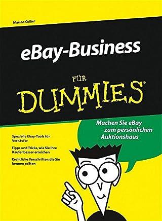 Mein eBay-Shop für Dummies: Tipps und Tricks, wie sie Ihre Käufer besser erreichen, Optimale eBay-Tools für Verkäufer, mit eBay richtig Geld verdienen