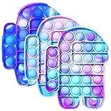 NOEARR Among Us Pop it, Pincez Sensorielle Jouet Pousser Pop Bubble, Fidget Toy Push - Pop Bubble...