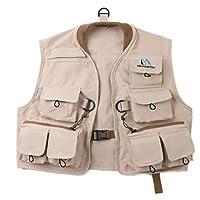 M MAXIMUMCATCH Maxcatch Kids Fly Fishing Vest Youth Vest Pack, 100% Cotton
