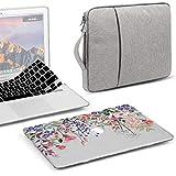 GMYLE MacBook Air 13 pollici Custodia A1466 A1369 Vecchia versione 2010-2017, guscio rigido in plastica, manicotto protettivo da 13,3 pollici, set copritastiera - Pink Plum Floral Garden