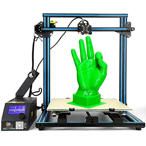 Newest Creality 3D Printer CR-10 S5 Upgrade Filament Sensor With Dual Z Axis Large Printing Size 500x500x500mm Resume Print When Power Off