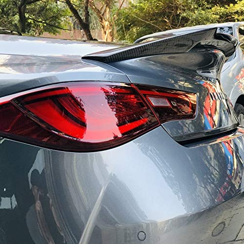 Boot Trunk Lid Wing Q60 Rear Trunk Spoiler Tail Trunk Lid Boot Lip Wing Sundial Style Carbon Fiber Fit for Infiniti Q60S Rear Trunk Spoiler Wing 2018-in,Roof Extension Lip Roof Extension Lip
