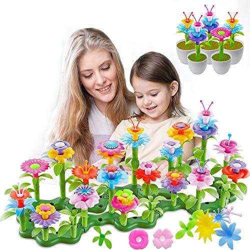 Hugo's Ocean Flower Garden Building Toys 109pcs Niñas Niños Toddles Regalos para 3 4 5 6 7 años