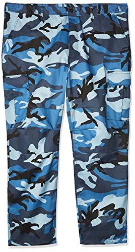 Rothco ミリタリー カーゴパンツ 迷彩 タクティカル BDU (バトルドレスユニフォーム) XXX-Large (3X) ブルー