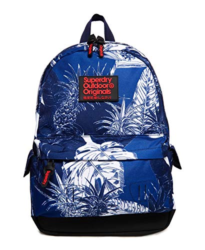 Superdry Montana Print Edition Backpack Chloe Tropical Blues
