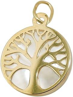 Amazon.es: arbol de la vida - Oro amarillo: Joyería
