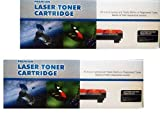 Pack 2 Unidades Toner Sustituto Brother TN1000/1030/1050/1060/1070/1075 para impresoras Brother DCP1510 DCP1512 DCP1610W HL1110 HL1112 HL1210W MFC1810 MFC1910W