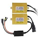 Chemini 2PCS Ultra Slim 12V 65W HID Reattori digitali universali per H1 H3 H4 H7 H10 H11 9...